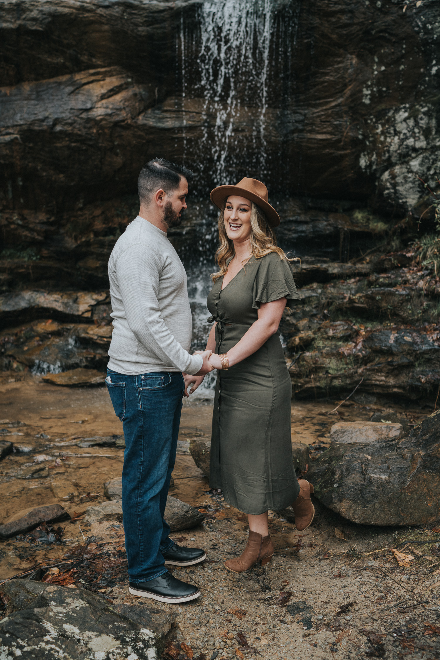 Couples Session at Toccoa Falls