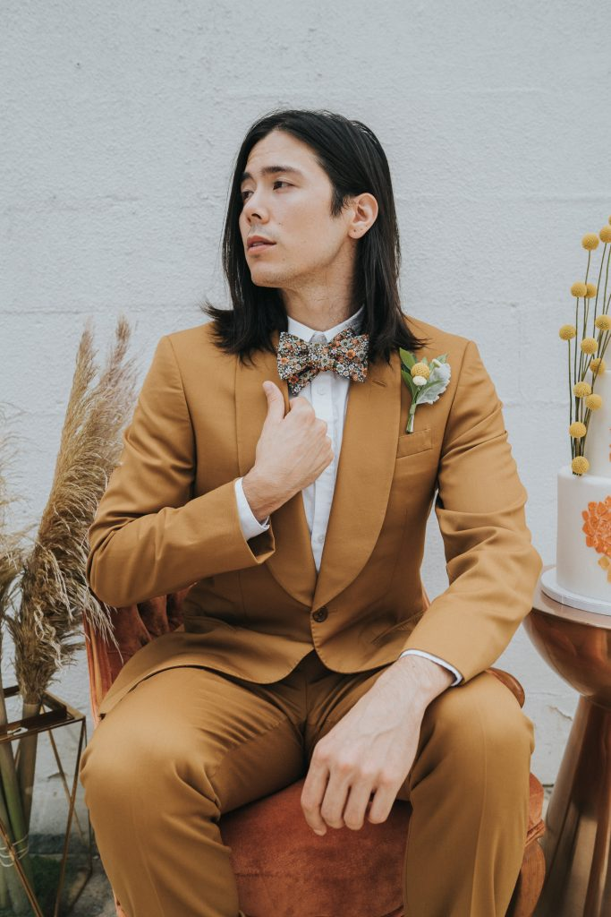 Retro Groom's Outfit Inspiration