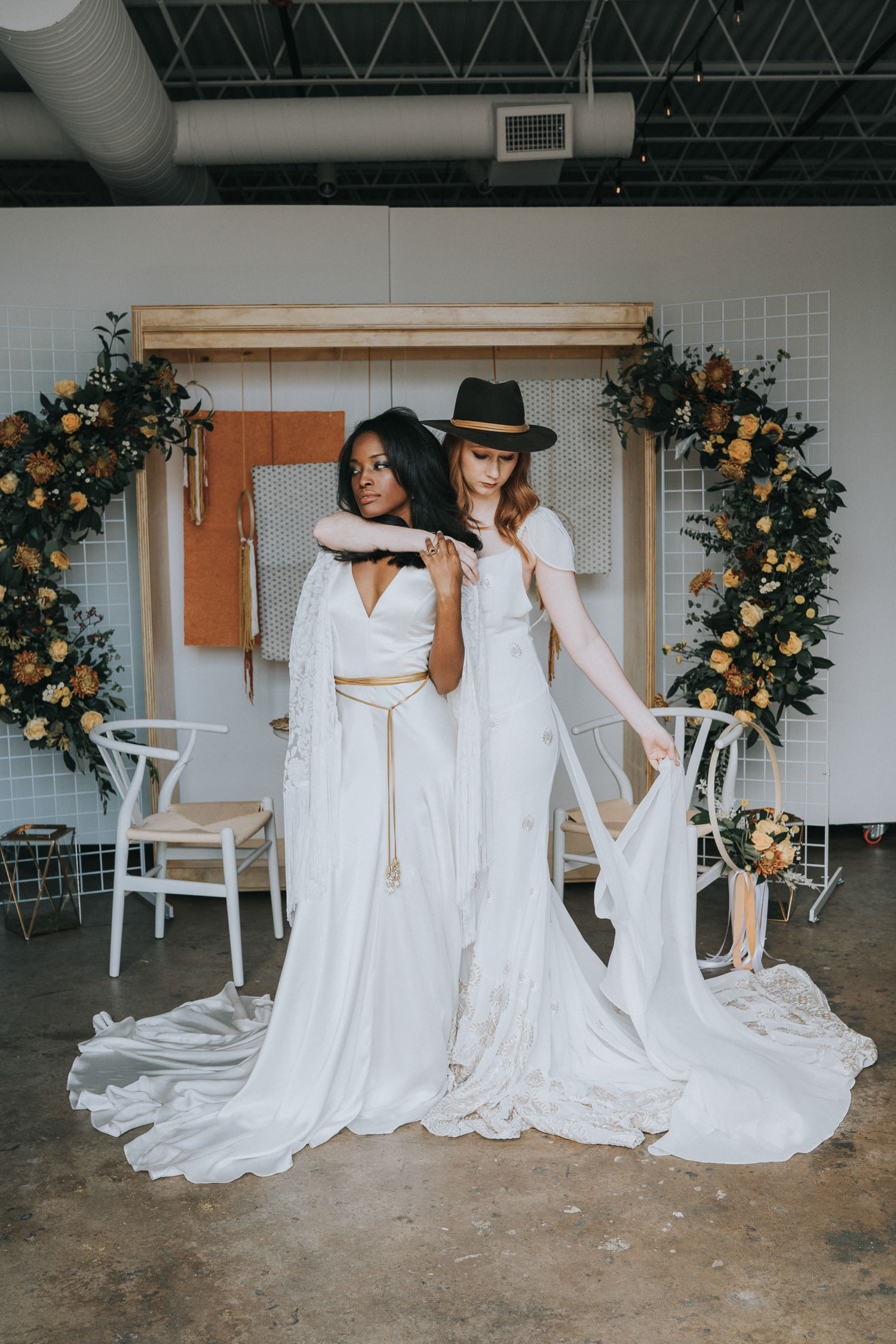70s inspired wedding